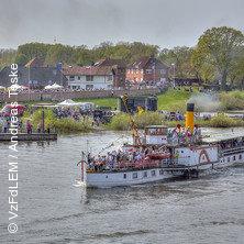 Kurs Elbe.Tag 2019 in LAUENBURG/ELBE * Raddampfer KAISER WILHELM,