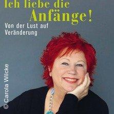 Lesung mit Barbara Salesch - Ich liebe die Anfänge