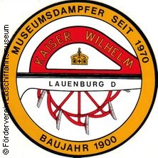 Lübeck-Fahrt in LAUENBURG/ELBE * Raddampfer KAISER WILHELM,