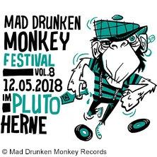 Mad Drunken Monkey Festival Vol. 8 in HERNE * Stadtteilzentrum PLUTO,