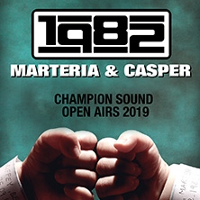 Marteria & Casper in ESSEN, 31.08.2019 - Tickets -
