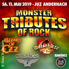 Monster Tributes Of Rock in Andernach, 11.05.2019 - Tickets -