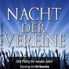Nacht der Vereine - Die Celler Party des Jahres!