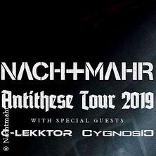 Nachtmahr - Antithese Tour 2019 in MANNHEIM * MS Connexion Complex,