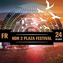 NDR 2 Plaza Festival 2019- u.a.m. Lenny Kravitz in HANNOVER, 24.05.2019 - Tickets -