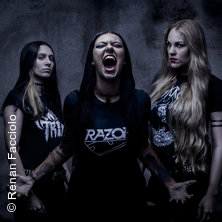 Nervosa - Downfall Of Mankind Tour 2018 in OSNABRÜCK * Bastard Club,