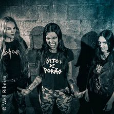 Nervosa - Downfall Of Mankind Tour 2019 in MANNHEIM * 7er Club,