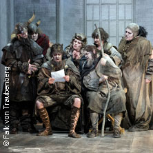 Die lustigen Nibelungen - Badisches Staatstheater Karlsruhe in KARLSRUHE * Großes Haus,