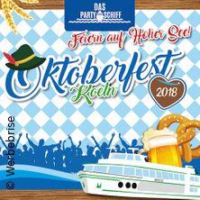 Oktoberfest Köln - Das Partyschiff in Köln, 20.10.2018 - Tickets -