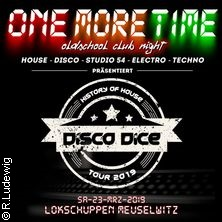 One More Time -  House Classic Night Tickets
