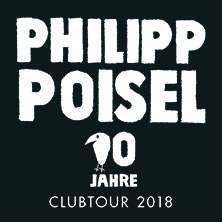 Philipp Poisel in Jena, 04.10.2018 -