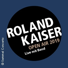 Roland Kaiser - Open Air 2019 in HÜCKELHOVEN * Schacht 3,