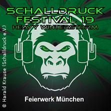 Schalldruck-Festival Heavy Winterstorm in MÜNCHEN * Feierwerk / Hansa 39,