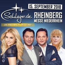 Schlager.de-Partynacht der Stars in RHEINBERG * Messe Niederrhein,