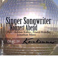 Singer Songwriter Konzert Abend in BRÜHL * Kornkammer Eventlocation Brühl,