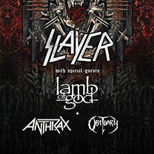 Slayer Tour 2018 - Termine und Tickets, Karten -