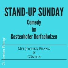 Stand-Up Sunday - Comedy im Gostenhofer Dorfschulzen in NÜRNBERG * Gostenhofer Dorfschulze,