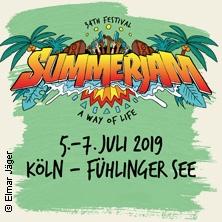 Summerjam Festival | 05. - 07. Juli 2019 in KÖLN * Fühlinger See Regattainsel,