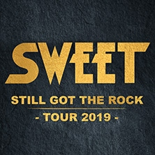 Sweet - Still Got The Rock Tour 2019