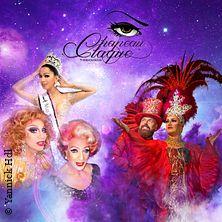 Travestie Chapeau Claque & Friends in KARLSRUHE * Restaurant Akropolis/ Ziegler Saal,