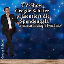 TV Show präsentiert von Gregor Schäfer - Spendengala zugunsten Demenzkranker