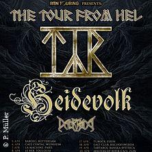 Tyr, Heidevolk, Dalriada - The Tour from Hel in MÜNCHEN * Backstage Werk