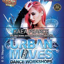 Urban Moves Dance Workshop - Kaea Pearce