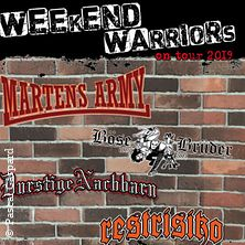 Weekend Warriors - On Tour 2019