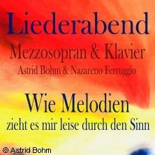 Wie Melodien - Astrid Bohm & Nazareno Ferruggio in SCHWETZINGEN * Melanchthon-Haus,