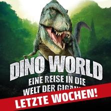 DINO WORLD - Eine Reise in die Welt der Giganten in Münster