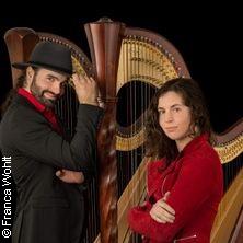 Ángel y Diablo - Tango auf zwei Harfen