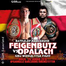 Internationale Boxgala - The Battle of Karlsruhe Feigenbutz vs Opalach in RHEINSTETTEN * Ufgauhalle Forchheim,