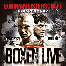 """BOXEN """"LIVE"""" Dominic Bösel - Europameisterschaft im Halbschwergewicht"""