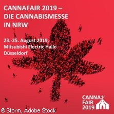 CannaFair 2019 in DÜSSELDORF * Mitsubishi Electric HALLE