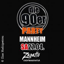 Die 90er Party in Mannheim