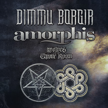 Dimmu Borgir & Amorphis + Support: Wolves In The Trone Room