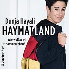 Dunja Hayali - Auf Tour durch's Haymatland in Tübingen, 14.10.2019 - Tickets -