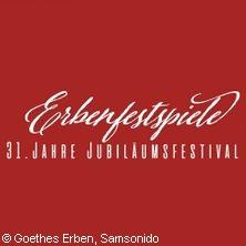Erbenfestspiele 2021 - Goethes Erben