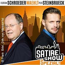 Satireshow Spezial: Florian Schroeder wählt Peer Steinbrück in DÜSSELDORF * Robert-Schumann-Saal