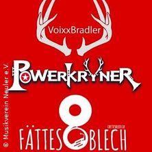 Jubläumsgaudi - 3 Tage wach - VoixxBradler, Powerkryner, Fättes Blech