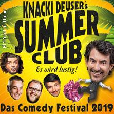 Knacki Deuser's Summer Club 2019 in ESSEN * Grugapark Essen / Musikpavillon,