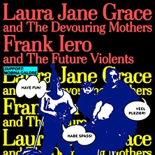 Laura Jane Grace & Frank Iero in BERLIN * SO 36