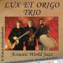 Lux Et Origo Trio