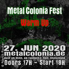 Metal Colonia Fest Warm-Up