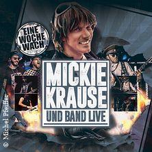 Micky Krause - EineWocheWach - Tour