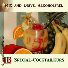 Mix and Drive. Alkoholfreie Cocktails.