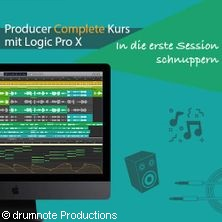 Producer Complete Kurs mit Logic Pro X in MÜNCHEN * drumnote Productions :: München