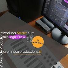 Producer Starter Kurs mit Logic Pro X -  drumnote Productions in MÜNCHEN * drumnote Productions :: München,