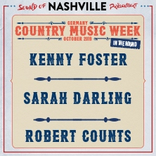 Sarah Darling, Kenny Foster, Robert Counts - Country Music Week Germany 2019