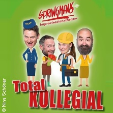 Springmaus Improvisationstheater: Total Kollegial - Neues Programm